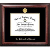 """University of Kansas 8.5"""" x 11"""" Gold Embossed Diploma Frame"""