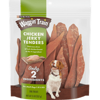 Purina Waggin' Train Limited Ingredient, Grain Free Dog Treat; Chicken Jerky Tenders (Various Sizes)