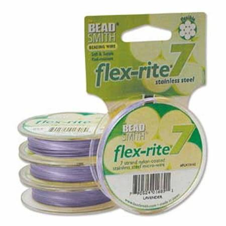 Lavender Flex Rite Beading Wire .018