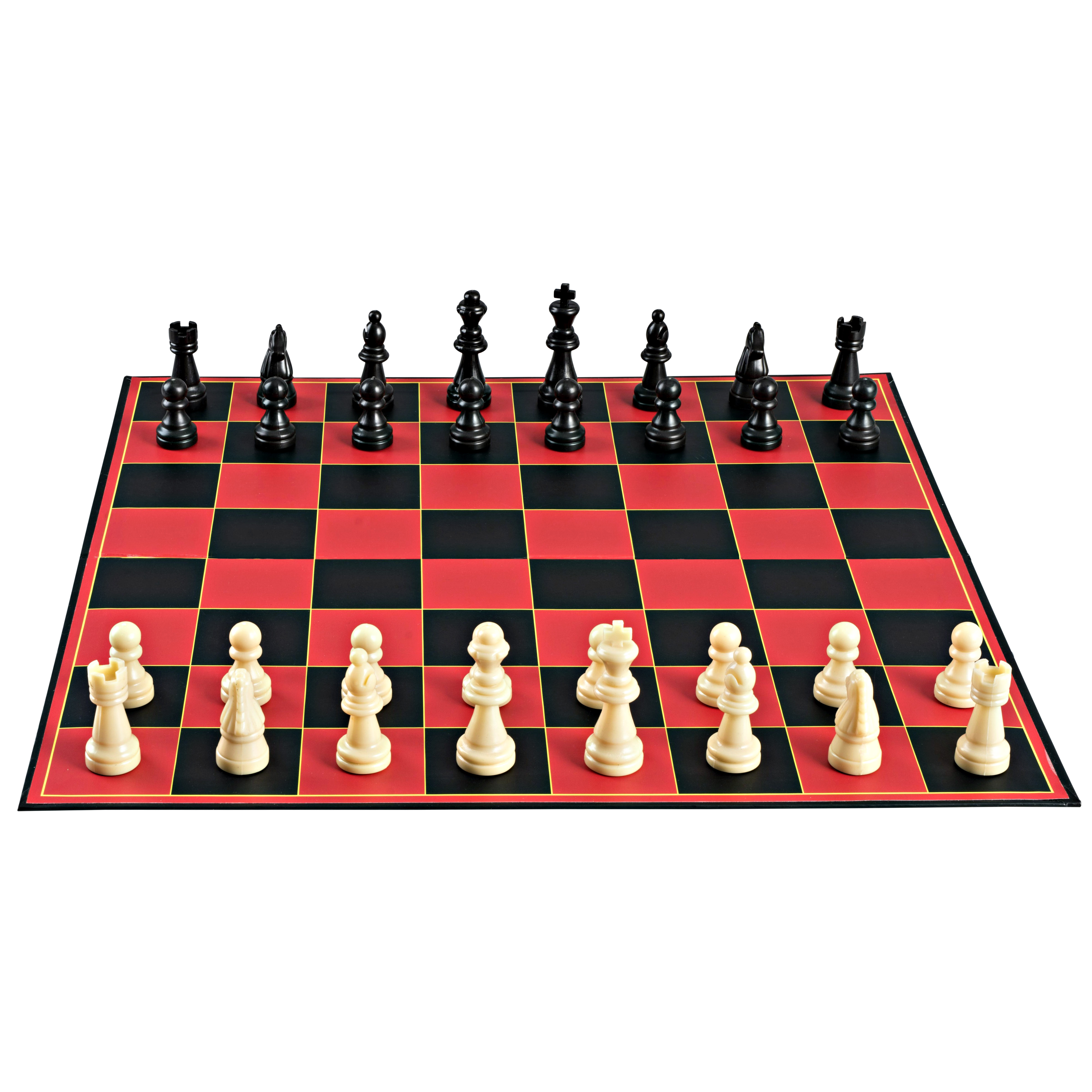 Point Games Classic Chess Board Game, with Super Durable Board, Best Folding Board Game for the Entire Family. by Point Games
