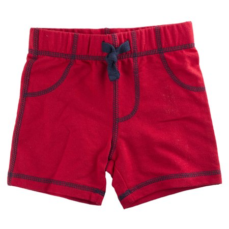 - First Impressions Baby Boys Solid Red Shorts, 6-9 Months