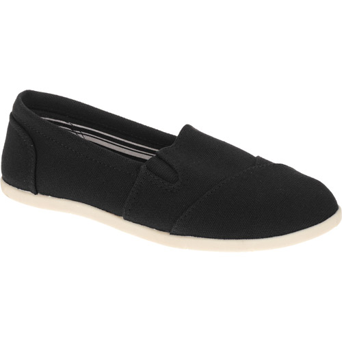 Faded Glory Women's Basic Canvas A-Line Flat