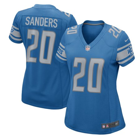 Barry Sanders Detroit Lions Nike Women's 2017 Retired Player Game Jersey - Blue