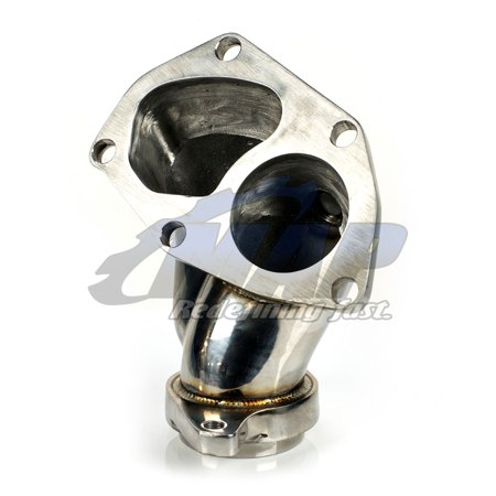 MAP Stainless Steel Turbo Outlet / O2 Housing for Mitsubishi Evolution Evo 8/9