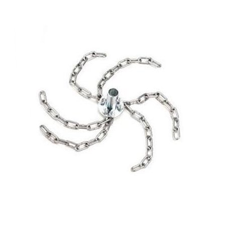 """Image of 12"""" Chain Whip W/adaptor, For Use With Steel Rods"""