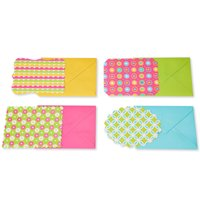 American Greetings 40 Count Blank Note Cards and Envelopes, Patterned