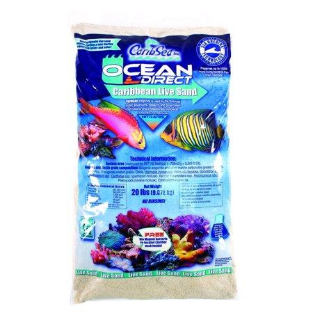 Carib Sea ACS00050 Aragonite Reef Sand for Aquarium (Aragonite Sand)