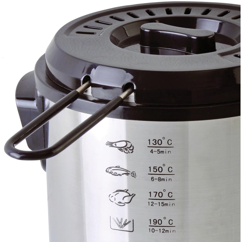 Brentwood Appliances DF-701 1-Liter Stainless Steel Electric Deep Fryer