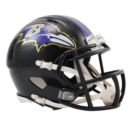 Riddell Revolution Helmets - Riddell Baltimore Ravens Revolution Speed Mini Football Helmet