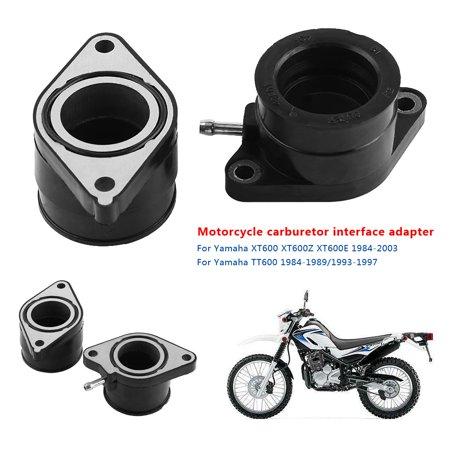 Ejoyous Motorcycle Carburetor Intake Interface Carb Adapter for Yamaha XT600 XT600Z XT600E 1984-2003,Carburetor Interface, Carburetor Adapter - image 7 of 9