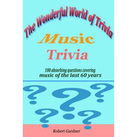 The Wonderful World of Trivia: Music Trivia - - Halloween Music Trivia