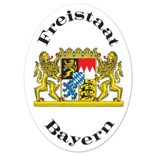 Oktoberfest Freistaat Bayern Cutout Sign