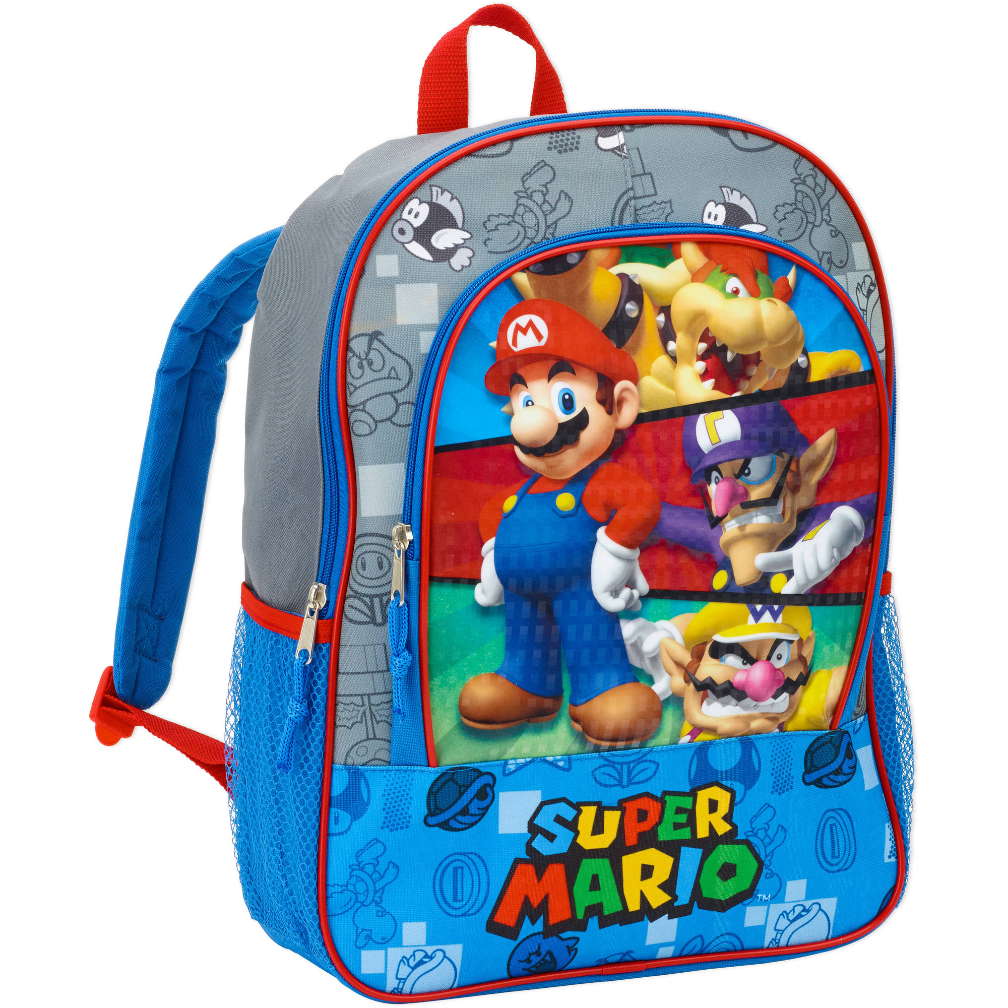 "Nintendo Super Mario 16"" backpack"