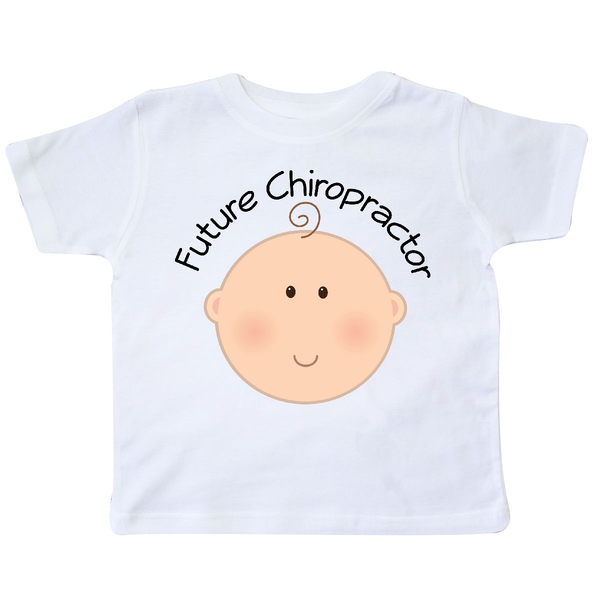 Inktastic Future Chiropractor Baby Toddler T-Shirt Chiropractic Occupation Job