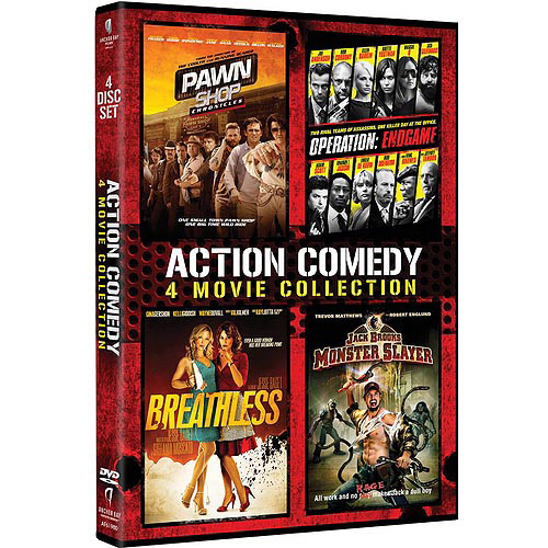 Action Comedy 4-Pack: Pawn Shop Chronicles / Operation: Endgame / Breathless / Jack Brooks: Monster Slayer (Widescreen)
