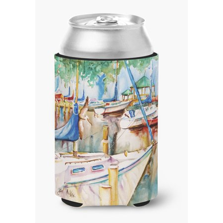 (Gazebo and Sailboats Can or Bottle Hugger)
