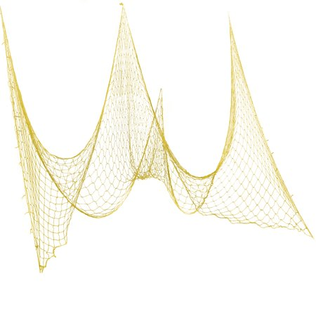 Luau Party Supplies Clearance (Tropical Luau Party Large Colored Fish Net 6'x30' Hanging Decoration,)