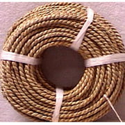 Basketry Sea Grass #3, 4.5mm x 5mm, 1 Pound Coil, Approximately 210'