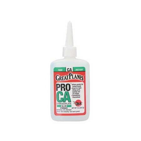 Pro CA Glue 2 oz Thin Multi-Colored (Model Car Kits Glue)