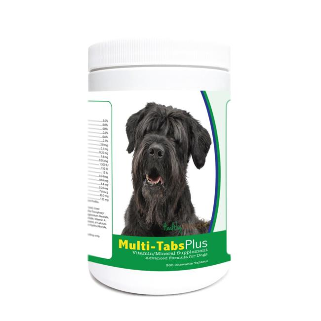 Healthy Breeds 840235175643 Black Russian Terrier Multi-Tabs Plus Chewable Tablets - 365 Count