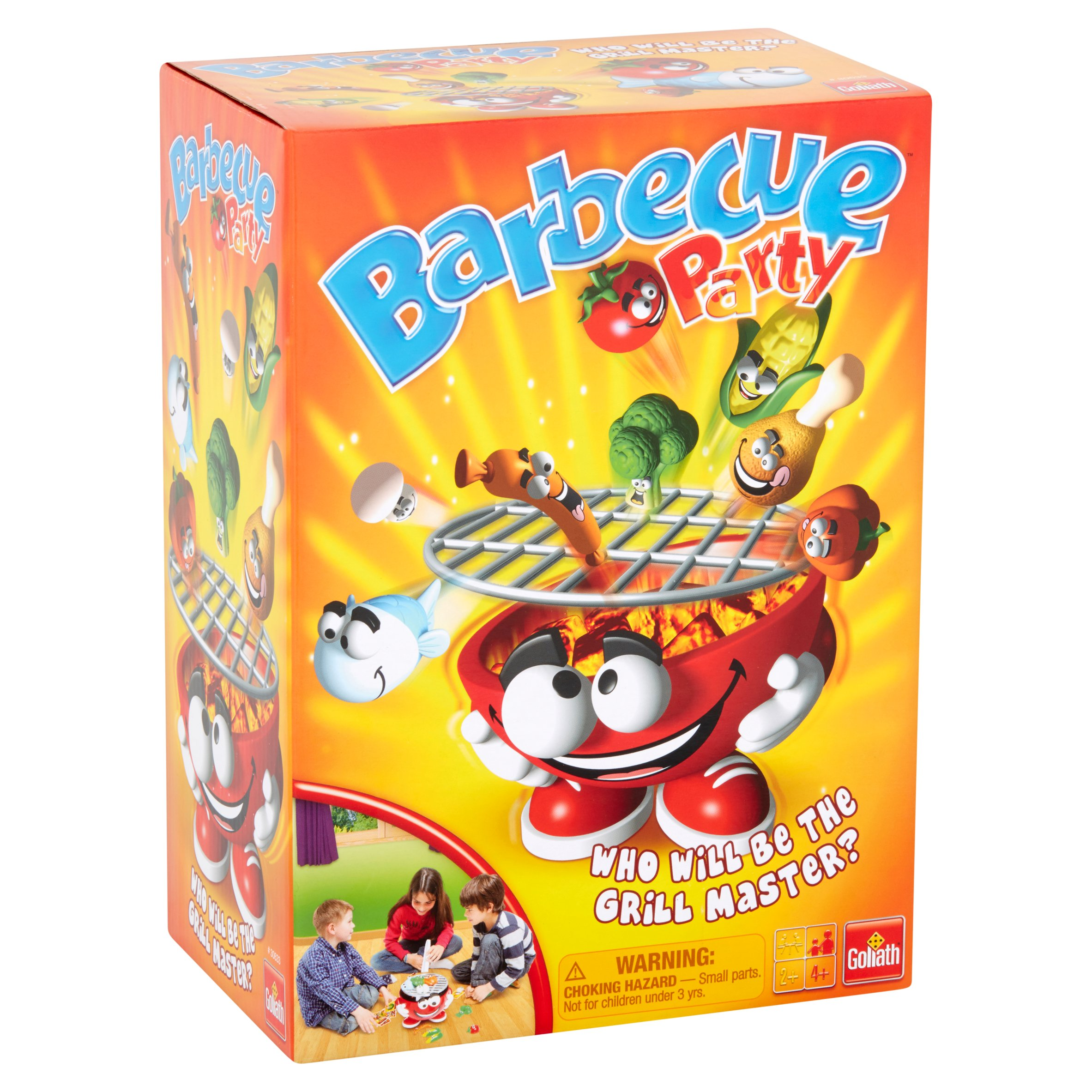 Goliath Games Barbecue Party Kids Game Ages 4 and Up