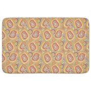 Uneekee Multicolored Entwined Lines Bath Mat