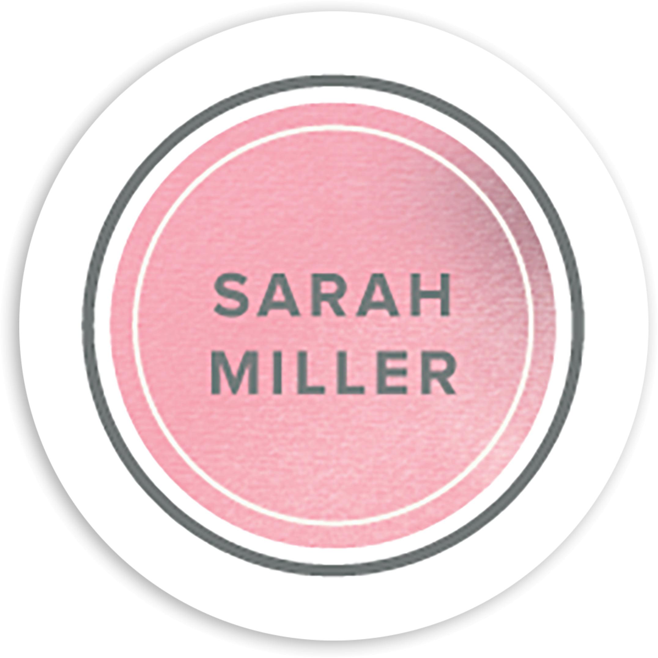 Graceful Script - Personalized 1.75 Circle Seal Sticker