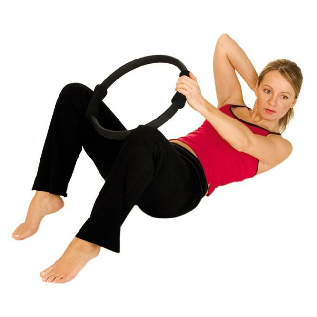 AGM Group 37001 14 in. Pilates Ring - Black