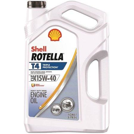 Shell Rotella T 15W 40 Heavy Duty Diesel Oil  1 Gallon