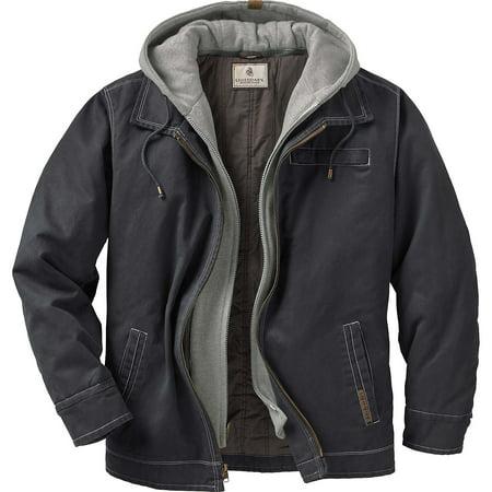 Zip Jacket Coat (Legendary Whitetails Men's Rugged Full Zip Dakota)