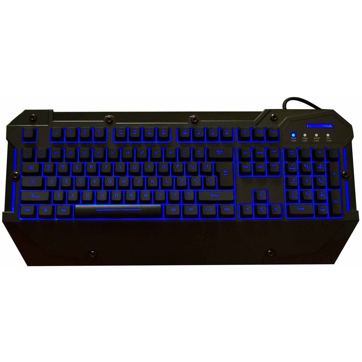 Rocksoul RSKB-00115 Gaming Keyboard, Black