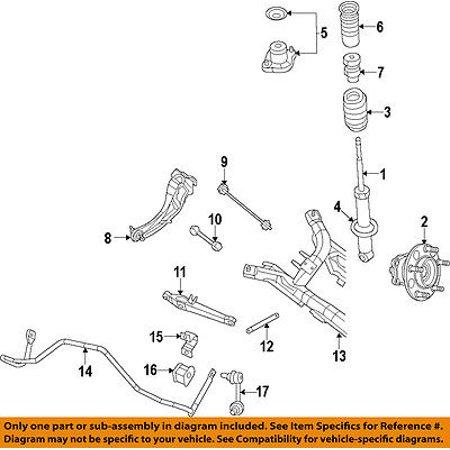 chrysler oem stabilizer sway bar-rear-stabilizer sway bar bushing 5039149aa  - walmart com