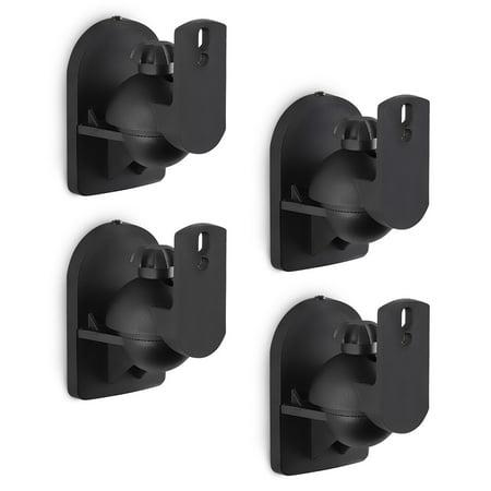 Mount It Speaker Wall Mount Full Motion Brackets For