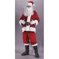 Santa Suit Rich Velvet Pls Size