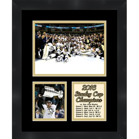 Frames By Mail Phil Kessel Champion Pittsburgh Penguins 2016 Stanley Cup Winner Collage Picture Frame