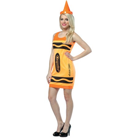 Crayola Adult Halloween Tank Dress Costume - Tank Halloween Costume For Dog