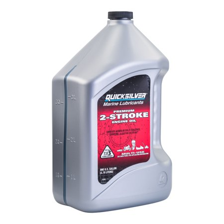 Quicksilver 2-Cycle Premium Outboard Oil TCW3 - 1 Gallon