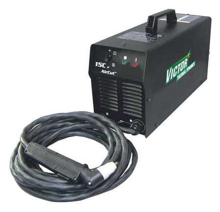 VICTOR THERMAL DYNAMICS 1-1110-1 AirCut 15C Plasma Sys w/ Air Compressor