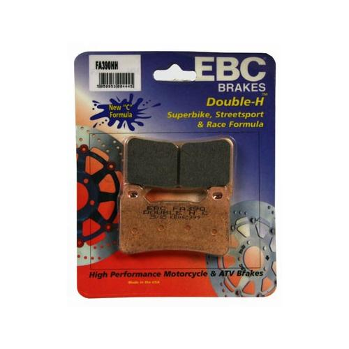 EBC Double-H Sintered Brake Pads Front (2 Sets Required) Fits 09-12 Honda CBR600RRA ABS
