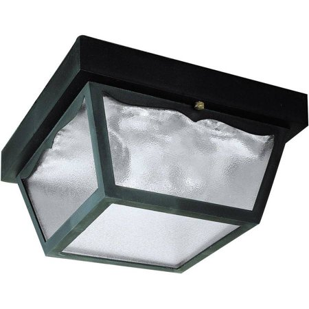 Westinghouse 66823000 2 Light Black Exterior Hi-Impact Polypropylene Porch (Westinghouse Porch Light)