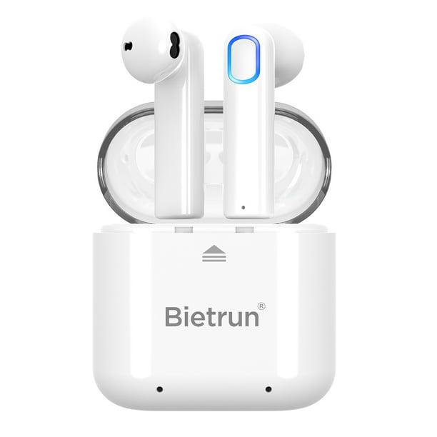 Wireless Bluetooth Earbuds Update Bluetooth 5 0 Wireless Headphones With Built In Mic And Charging Case Hands Free Calling Sweatproof In Ear Headset Earphone Earpiece For Iphone Android Smart Phones Walmart Com Walmart Com