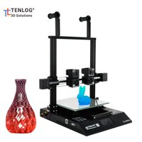 TENLOG TL-D3 Pro 3D Printer Independent Dual Extruder Double Z- with Touchscreen Support Filament Run Out Detection Resume Print Function Large Build Volume 300*300*350mm