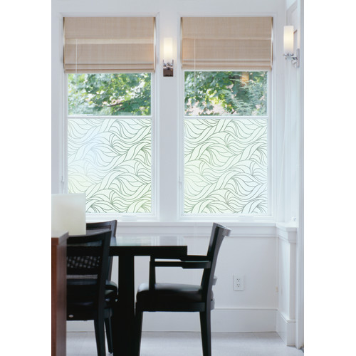 WallPops! Nouveau Swirl Window Film