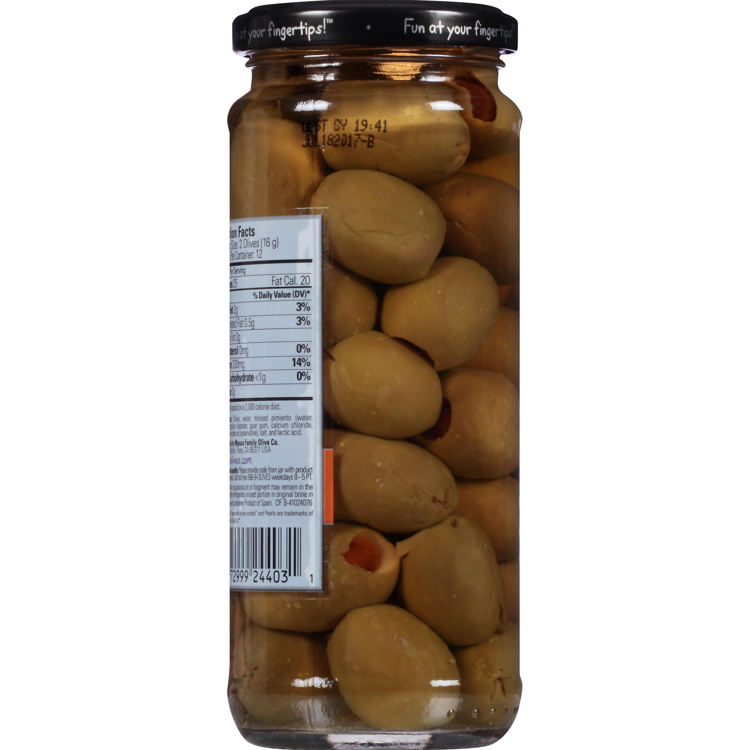 Pearls® Pimiento Stuffed Queen Olives, 7 oz. Jar - Walmart.com