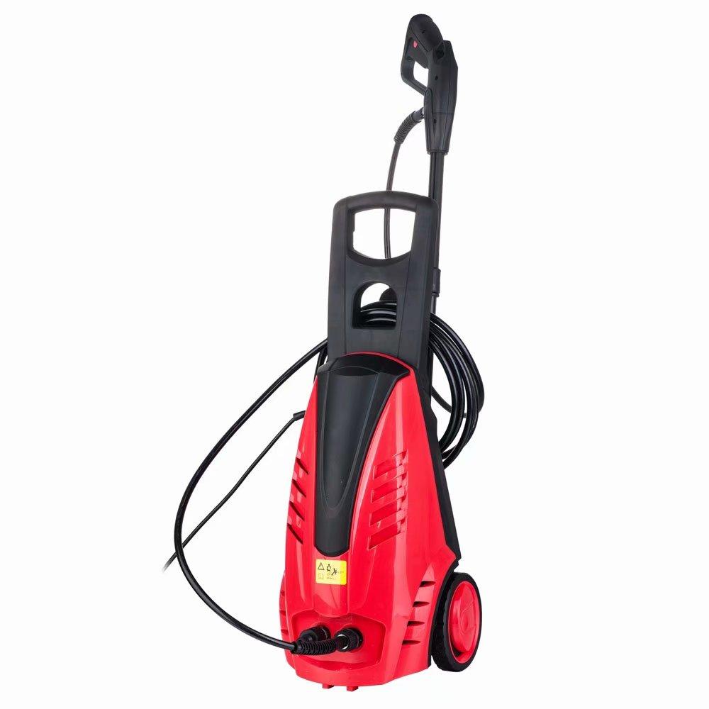 1800W Brush Motor High Pressure Washer Red
