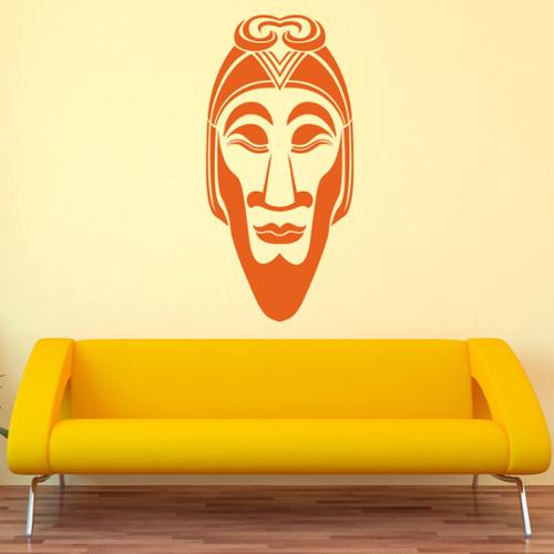 Style and Apply African Mask Ii Vinyl Sticker Wall Decor