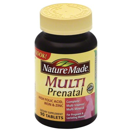 Nature Made Nutritional Products Nature Made Prenatal Multi, 90 ea