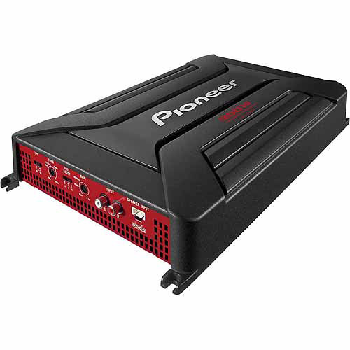 Pioneer GM-A5602 2-Channel Bridgeable Amplifier with 900 Watts Max Power and Bass Boost Control