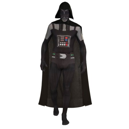 Mens Darth Vader Second Skin Halloween Costume](Darth Vader Infant Costume)