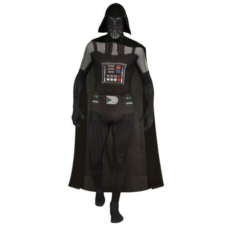 Mens Darth Vader Second Skin Halloween Costume
